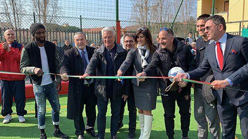 """Salerno: inaugurato il nuovo campo sportivo Liceo Scientifico """"Severi"""""""
