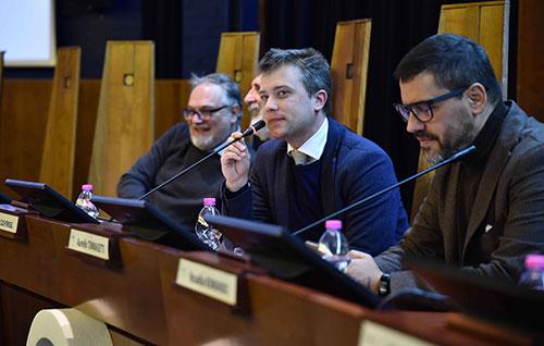"UNISA Orienta: Zuchtriegel conquista gli studenti e chiede ""tanti erasmus"""