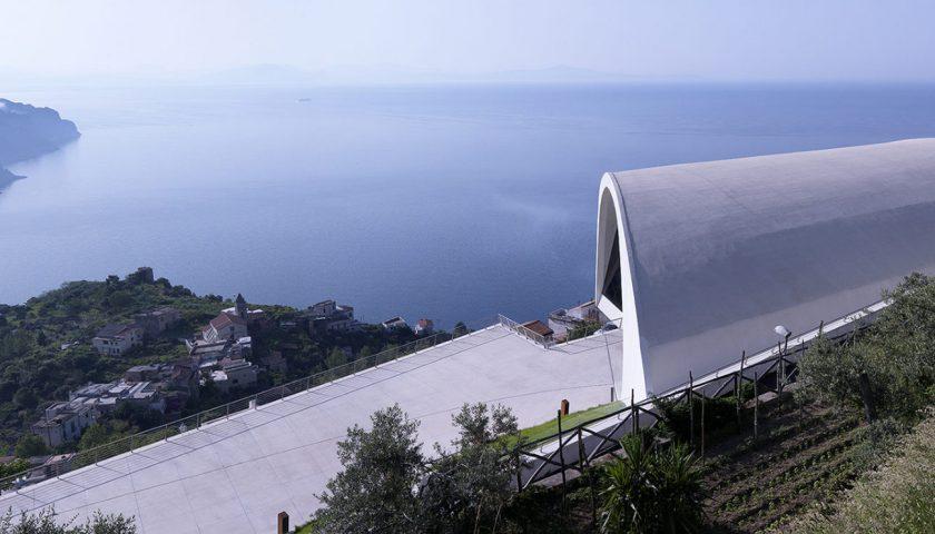 Ravello: il Comune assegna 40 posti auto nel parcheggio dell'auditorium Niemeyer