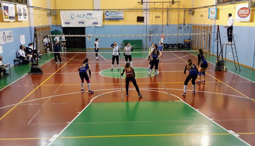 """Salerno Guiscards, il team volley sempre più """"corsaro"""": espugnato il campo di Aversa"""