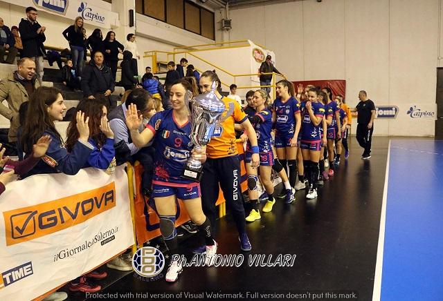 Jomi Salerno, arriva la vittoria contro la Casalgrande Padana