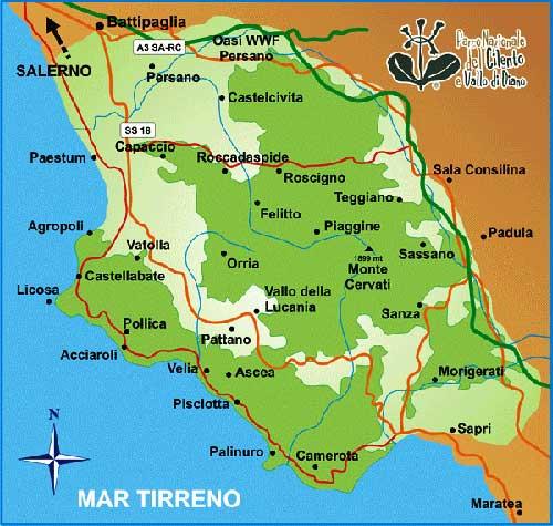 Il Parco Nazionale del Cilento, Vallo di Diano ed Alburni dice no alla carta