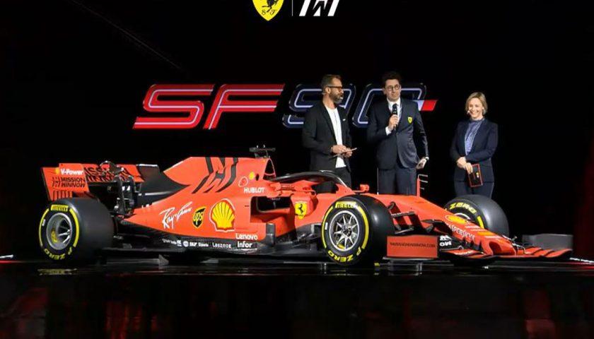 Ecco la Ferrari SF90, la nuova monoposto del Cavallino Rampante