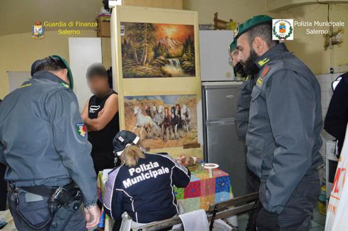 Salerno, affitti in nero agli immigrati: blitz di Finanza e Polizia Municipale