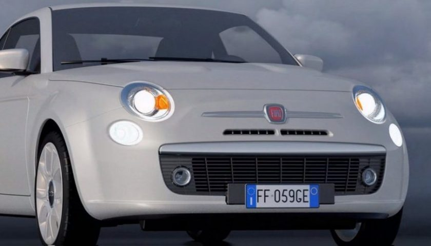Nuova Fiat 500, elettrica ed a benzina, pronta nel 2020