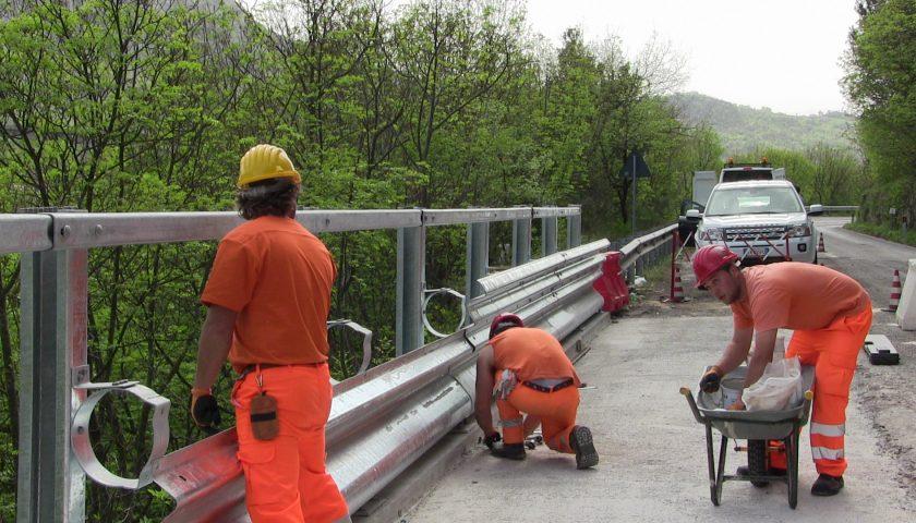 Ripristino delle barriere di sicurezza stradale sul tratto della SP 175 nei Comuni di Battipaglia e di Eboli