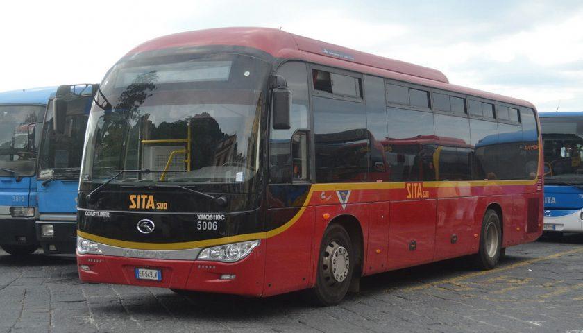 Aggressioni a bordo, squadre di vigilanza anche sui bus Sita Sud