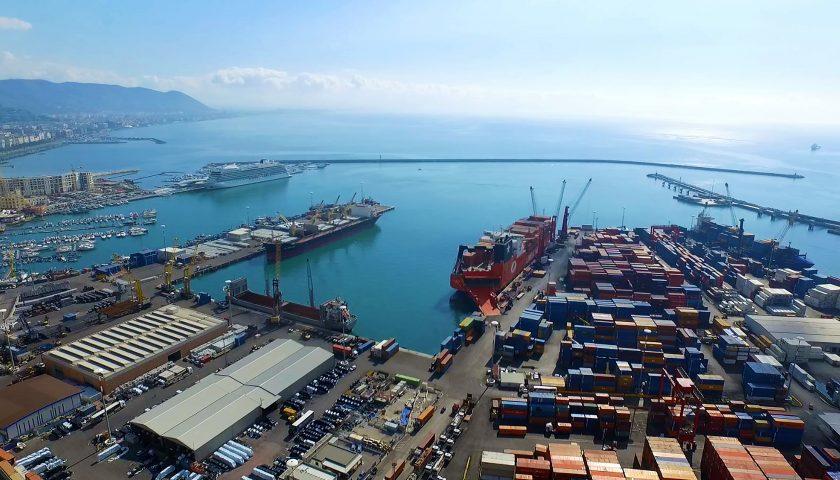Porto di Salerno: nel 2019 il traffico container a -9,3%, colpa del mancato dragaggio