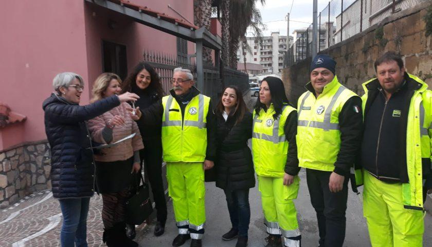 Angri: bene confiscato alla criminalità organizzata affidato alla Protezione Civile comunale