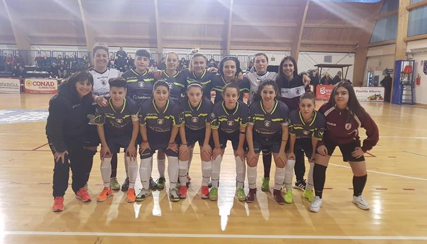 Salernitana femminile, sconfitta di misura contro il Futsal Rionero