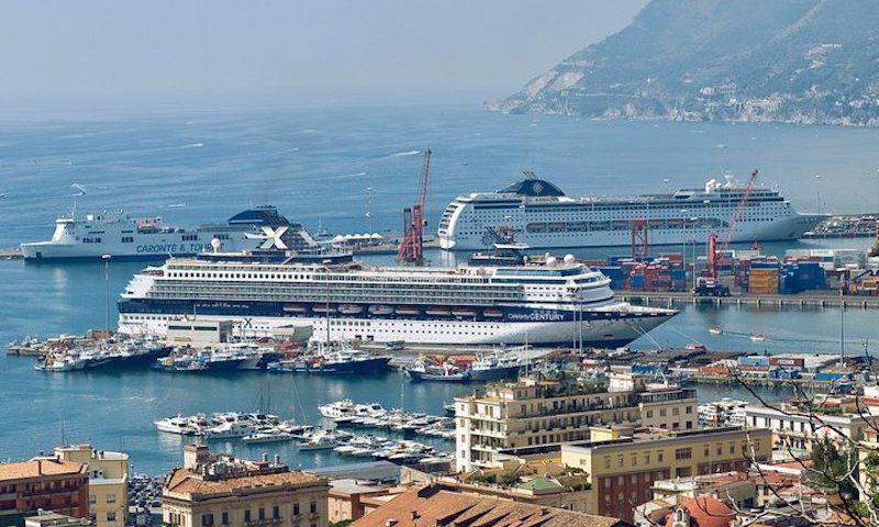 Porto di Salerno, approvato calendario crociere 2019: previsto l'approdo di 69 navi
