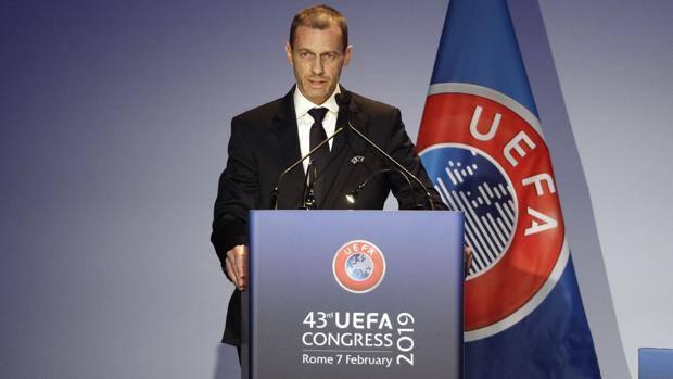 """Uefa, rieletto Ceferin: """"Figc ok sul razzismo"""""""