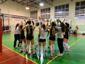 La Volley Project Pontecagnano perde partita e primato a Benevento