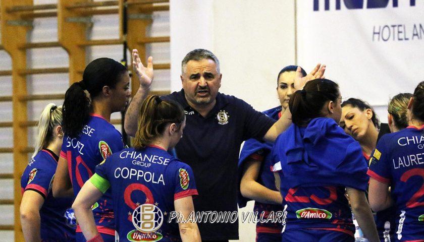 La Jomi Salerno sfida Oderzo per chiudere in testa la Regular Season