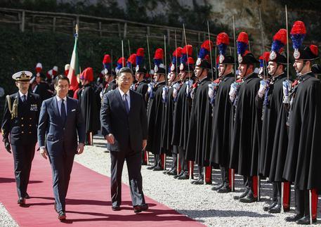 Xi a Roma, a Villa Madama l'incontro con Conte