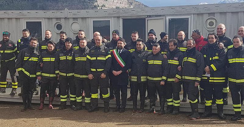 Mercato San Severino: al via il campo di addestramento per i vigili del fuoco del centro – sud Italia