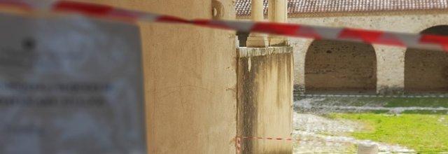 Lavori sospetti nella Certosa, scatta il sequestro del monumento