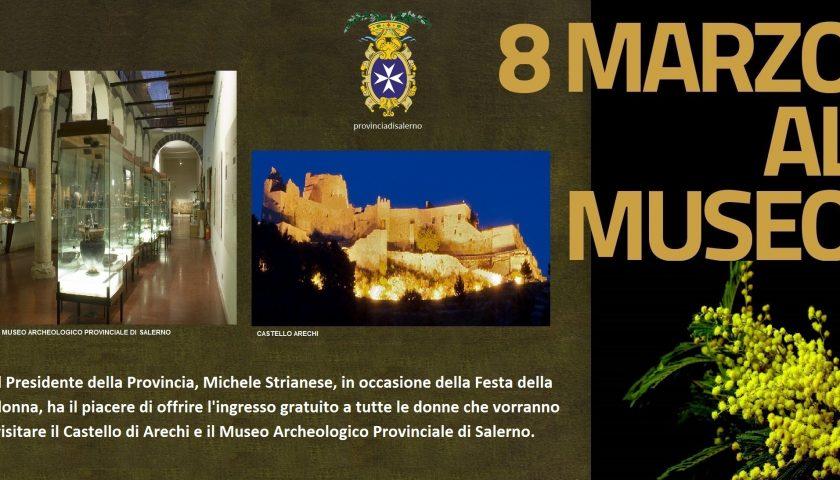 """""""8 marzo al Museo"""": ingressi gratuiti ai musei provinciali per festeggiare la donna"""