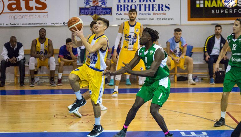 Terzo successo di fila per il Basket Bellizzi, Irpinia ko