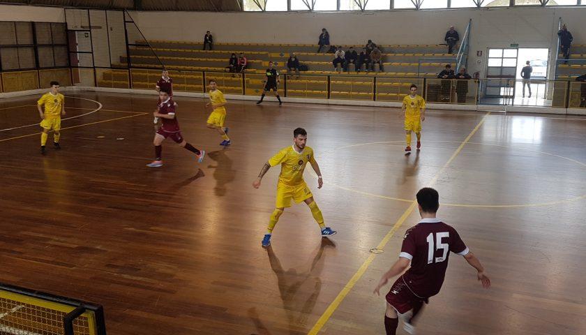 L'Alma Salerno si fa del male da sola: il Futsal Canosa sbanca il PalaTulimieri