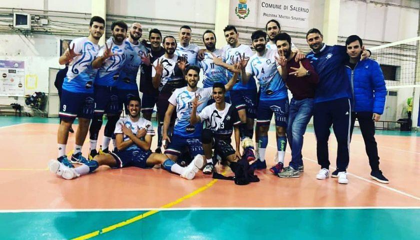 Capolavoro Indomita Salerno, battuta la capolista Sacs Team Napoli