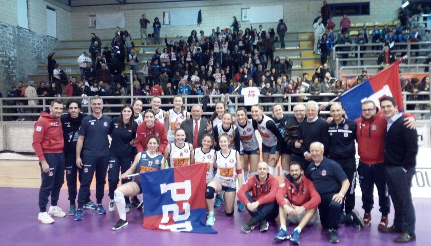 A2 volley femminile: La P2P Baronissi batte Cutrofiano e festeggia la salvezza