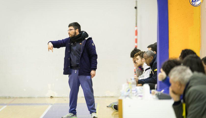 Basket Bellizzi, coach Sanfilippo: «Pigri ad inizio gara. Serve più decisione sotto canestro»