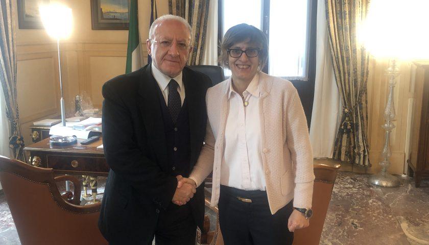 Piano Lavoro in Campania: incontro De Luca – Bongiorno, bando entro aprile