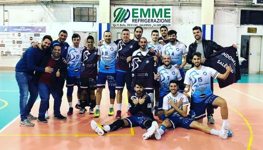 Terza vittoria consecutiva per l'Indomita Salerno, Ottaviano ko