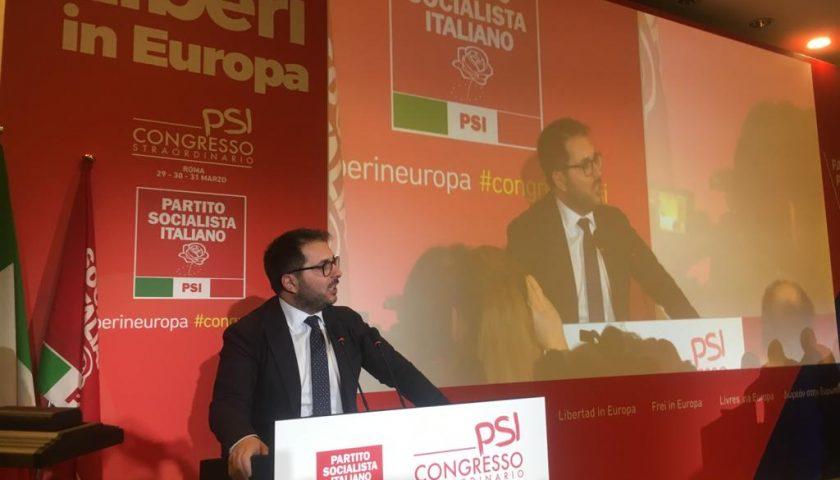 Il salernitano Enzo Maraio è il nuovo segretario nazionale del Partito Socialista Italiano