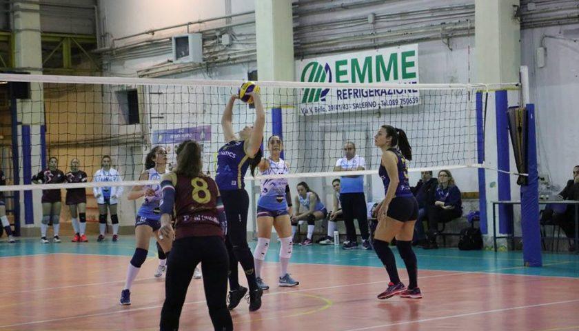 Salerno Guiscards, il team volley  insegue la decima vittoria consecutiva contro l'Asd Vesuvio Oplonti