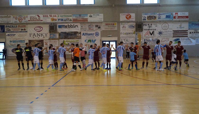 Calcio a 5: un primo tempo da dimenticare condanna l'Alma Salerno contro il Manfredonia