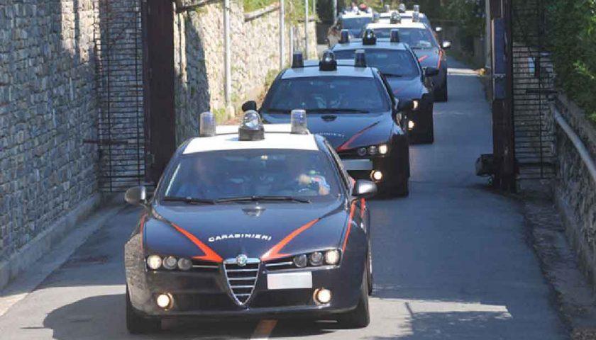 Eroina e cocaina nella Valle dell'Irno: sei corrieri della droga finiscono nella rete dei Carabinieri