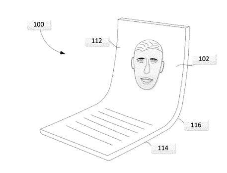 Google brevetta uno schermo pieghevole