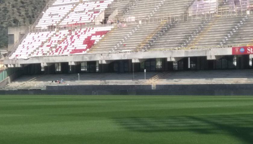 Stadio Arechi: terminati i lavori in curva nord, ecco i distinti