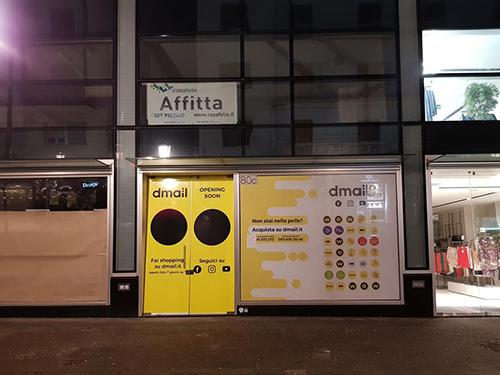 Dmail, sbarca sul Corso lo store aperto h24