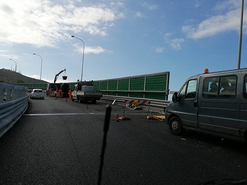 Lavori infiniti in tangenziale a Salerno: qualcosa è andato storto?