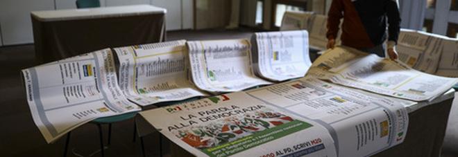 Vigilia Primarie Pd, rissa per il kit del voto: a Salerno manifesti pro Martina