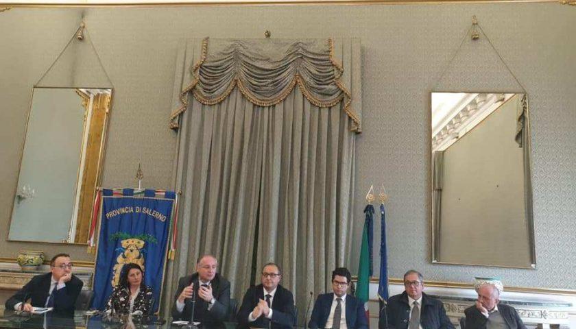Provincia di Salerno ecco le deleghe ai consiglieri