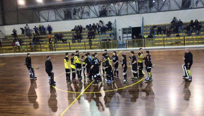 La Campolongo Hospital Roller Salerno vince il derby contro la Cresh Eboli