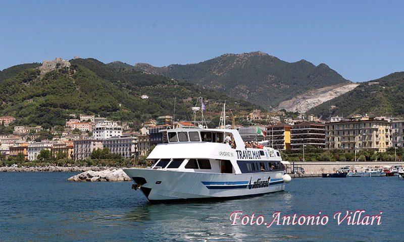Dal 10 luglio tornano i traghetti da Sapri e Salerno per le isole Eolie