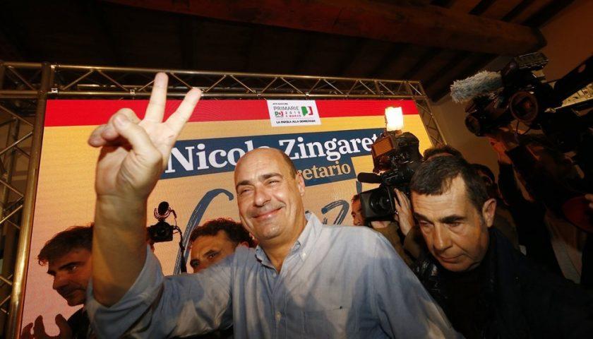 Primarie PD: Zingaretti è il nuovo segretario. Il deluchiano Annunziata verso la leadership regionale