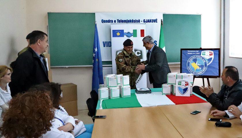 Missione in Kosovo: consegnati dai militari di Persano un importante quantitativo di farmaci ad alcuni ospedali