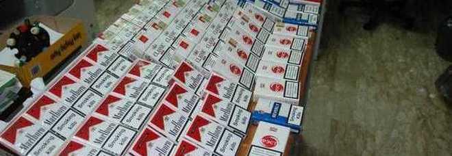 Cento chili di sigarette chiuse in garage, ucraino a giudizio