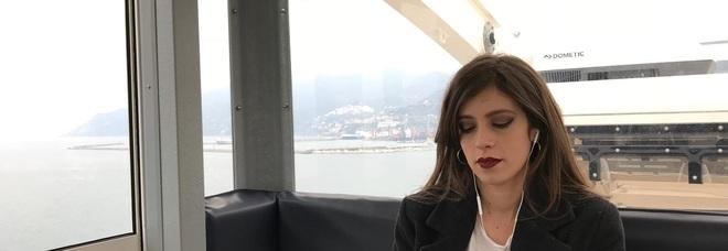 Via Botteghelle ed il Lungomare di Salerno set del video dei Mercalli