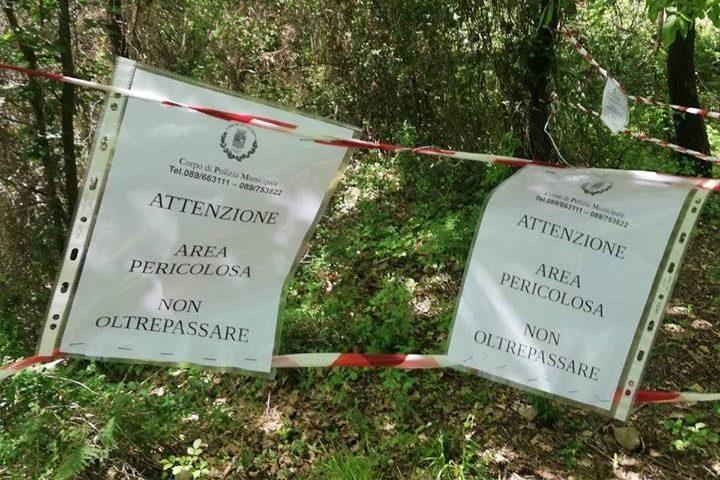 Salerno: ritrovato a Giovi Piegolelle ordigno bellico della II Guerra Mondiale
