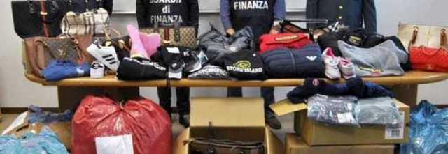 Abiti e scarpe sequestrati dalla Finanza alla Caritas in Libano
