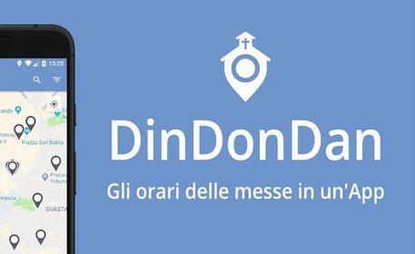 Arriva DinDonDan, l'app per conoscere orari messe