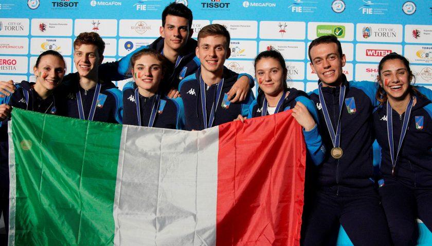 Il salernitano Michele Gallo è Campione del Mondo a squadre con l'Italia della sciabola Under 20