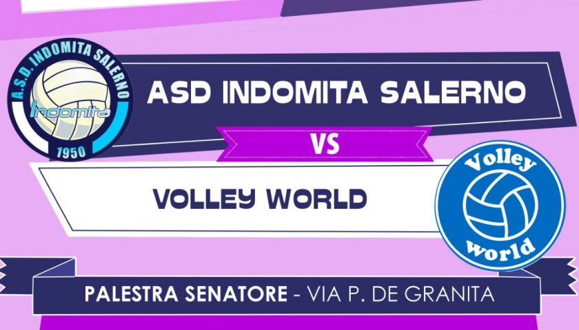 """Sfida a Volley World per l'Indomita Salerno. Coach Mari: """"Cercheremo di chiudere al meglio la stagione. Salvezza merito di chi ci ha creduto sempre"""""""